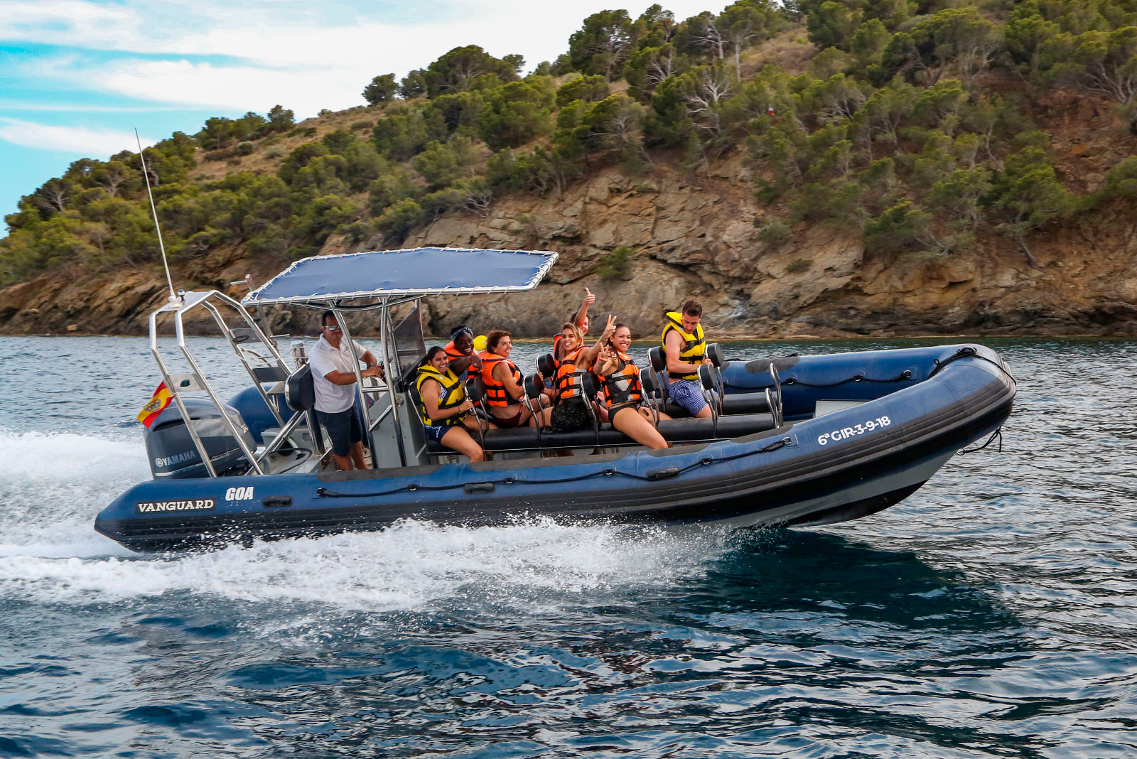excursion-snorkeling-en-speed-boat-roses-costa-brava